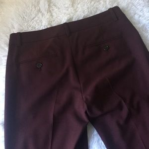 Theory Pants - NEW Theory Mulberry Lauren Tailor Cuff Wool Pants